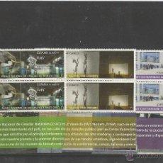 Sellos: SPAIN 2016 - MUSEOS. MNCC, MACBA E IVAM PAIR SET MNH. Lote 55087599