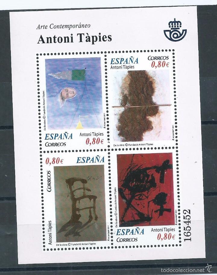 R9/ ESPAÑA EN NUEVO** 2011, EDF, 4664, ARTE CONTEMPORANEO (Sellos - España - Juan Carlos I - Desde 2.000 - Nuevos)