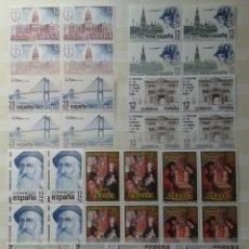 Sellos: 9X4 SELLOS, NUEVOS, ESPAÑA, AÑO 1981. Lote 55338235