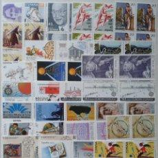 Sellos: 32X4 SELLOS, NUEVOS, ESPAÑA, AÑO 1988. Lote 55345412