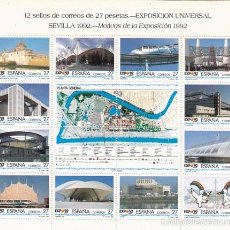 Sellos: H.B.3165 EXPO`92 EXPOSICION UNIVERSAL DE SEVILLA/1992. Lote 55394135
