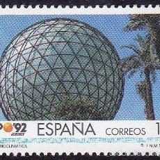 Sellos: EDIFIL 3171 ESFERA BIOCLIMATICA/1992. Lote 55395505