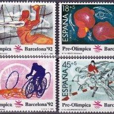 Sellos: EDIFIL 2994/97 JJ.OO.BARCELONA`92(II SERIE PREOLIMPICA/1989. Lote 55710847