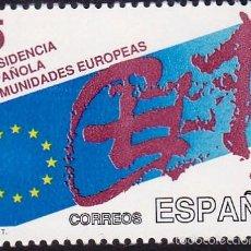 Sellos: EDIFIL 3010 PRESIDENCIA ESPAÑOLA EN LAS COMUNIDADES EUROPEAS/1989. Lote 55711805