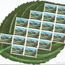 Sellos: SPAIN 2016 - CENT. OF FIRST NATIONAL PARKS ACT PREMIUM SHEET MNH. Lote 55915526