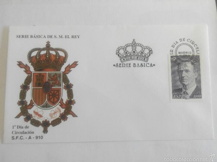 SOBRE PRIMER DIA 1995 SELLO 1000 PESETAS (Sellos - España - Juan Carlos I - Desde 1.986 a 1.999 - Cartas)