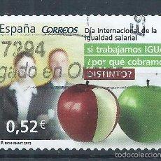 Sellos: R9/ ESPAÑA USADOS 2013, EDF. 4776, VALORES CIVICOS. Lote 55993423