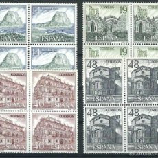 Sellos: ESPAÑA 1987 EDIFIL 2900/03** TURISMO EN BLOQUES DE 4. Lote 56162730