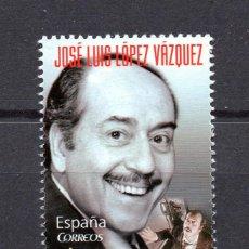 Sellos: ESPAÑA 4578** - AÑO 2010 - CINE ESPAÑOL - JOSE LUIS LOPEZ VAZQUEZ. Lote 293679273