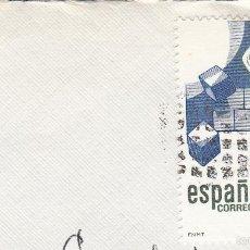 Sellos: SOBRE COMPLETO, EDIFIL 2683. ANULACIÓN SUPLENTE MATº ROMBO DE PUNTOS.. Lote 56509205