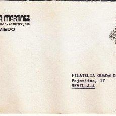 Sellos: SOBRE COMPLETO, EDIFIL 2644. ANULACIÓN SUPLENTE MATº ROMBO DE PUNTOS.. Lote 56509303