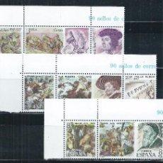Sellos: R9.BLOCK01/ ESPAÑA EN NUEVO** 1978, EDF. 2460/68, CENTENARIOS. Lote 56515347