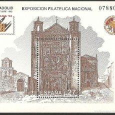Sellos: 1992-ED. 3222 H.B.-EXFILNA'92.I.S.PEDRO.VALLADOLID-NUEVO-. Lote 101310667