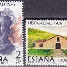 Sellos: EDIFIL 2371/74 HISPANIDAD/COSTA RICA-1976. Lote 56689757