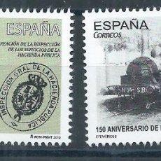 Sellos: R9/ ESPAÑA EN NUEVO** 2013, EDF. 4800/01, EFEMERIDES. Lote 56693421