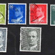 Sellos: AÑO 1981 - EDIFIL 2599 A 2607 - SERIE, S. M. DON JUAN CARLOS I. Lote 56700670