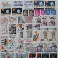 Sellos: 38X4= 152 SELLOS, NUEVOS, ESPAÑA, AÑO 1987. Lote 56750394