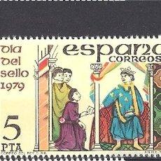 Sellos: EDIFIL 2526 ESPAÑA 1979 DIA DEL SELLO. Lote 56899397
