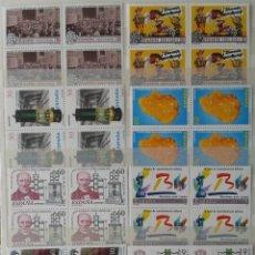 Sellos: 30X4 SELLOS, NUEVOS, ESPAÑA, AÑO 1996. Lote 56925965