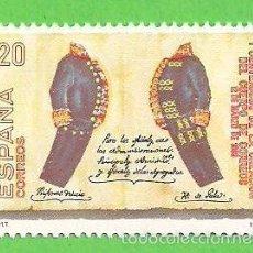 Briefmarken - EDIFIL 2998. I CENTENARIO DE LA CREACIÓN DEL CUERPO DE CORREOS. - UNIFORMES . - ** 1989. - 57223827
