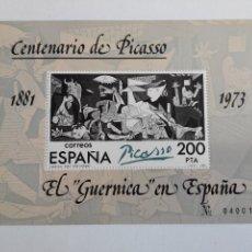 Sellos: SELLOS ESPAÑA AÑO 1981. 2631 EL GUERNICA EN ESPAÑA. Lote 103743236