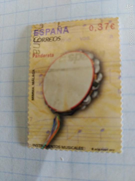 ESPAÑA 2013, INSTRUMENTOS MUSICALES. PANDERETA (Sellos - España - Juan Carlos I - Desde 2.000 - Usados)
