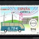 Sellos: ESPAÑA 4275** - AÑO 2006 - AMERICA - UPAEP - ENERGIAS RENOVABLES. Lote 57448738