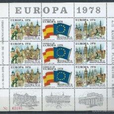 Sellos: R9/ ESPAÑA EN NUEVO** EUROPA 1978. Lote 57489251