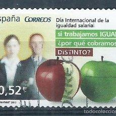 Sellos: R7/ ESPAÑA USADOS 2013, EDF. 4776, VALORES CIVICOS. Lote 57574614