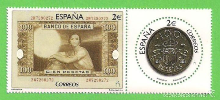 EDIFIL 5010-5011. NUMISMÁTICA. (2015).** NUEVO Y SIN FIJASELLOS - SERIE COMPLETA. (Sellos - España - Juan Carlos I - Desde 2.000 - Nuevos)