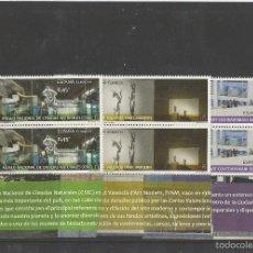 Sellos: SPAIN 2016 - MUSEOS. MNCC, MACBA E IVAM PAIR SET MNH. Lote 58193819