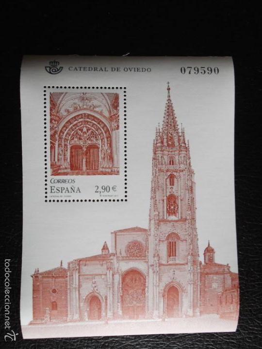 ESPAÑA. 4679 HB CATEDRAL DE TARAZONA**. 2011. SELLOS NUEVOS Y NUMERACIÓN EDIFIL. (Sellos - España - Juan Carlos I - Desde 2.000 - Nuevos)