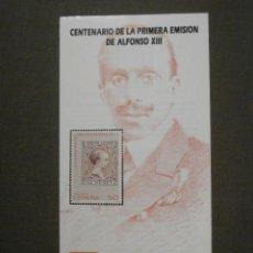 Sellos: FOLLETO INFORMATIVO Nº 18/89 - EMISIÓN SELLO CORREOS - EDIFIL 3024 - SELLOS - DÍPTICO. Lote 58654392