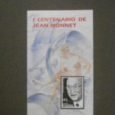 Sellos: FOLLETO INFORMATIVO Nº 11/88 - EMISIÓN SELLO CORREOS - EDIFIL 2931 - SELLOS - DÍPTICO. Lote 58658666