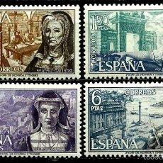 Sellos: ESPAÑA 1968- EDI 1864/67 (SERIE-PERSONAJES) NUEVA***. Lote 58661926