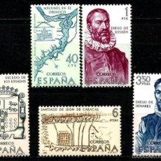 Sellos: ESPAÑA 1968- EDI 1889/93 (SERIE-FORJADORES) NUEVA***. Lote 58662805