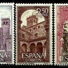 Sellos: ESPAÑA 1968- EDI 1894/96 (SERIE-MONASTERIO DEL PARRAL) NUEVA***. Lote 58662838