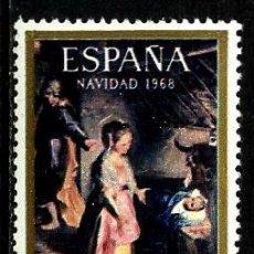 Sellos: ESPAÑA 1968- EDI 1897 (SERIE-NAVIDAD) NUEVA***. Lote 58662864
