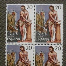 Sellos: SELLO - GRANDES FIESTAS POPULARES ESPAÑOLAS - BLOQUE DE 4 - EDIFIL 2933 - 1988. Lote 58675929
