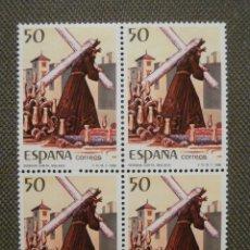 Sellos: SELLO - GRANDES FIESTAS POPULARES ESPAÑOLAS - BLOQUE DE 4 - EDIFIL 2934- 1988. Lote 58675987