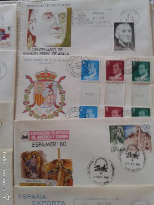 Sellos: IMPRESIONANTE LOTE DE SOBRES CON SELLOS Y MATASELLOS ORIGINALES DEL AÑO 80 - Foto 2 - 58681651