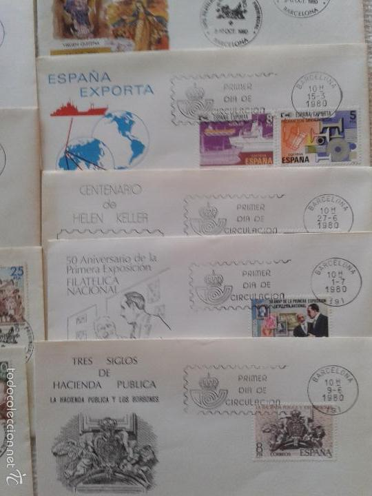Sellos: IMPRESIONANTE LOTE DE SOBRES CON SELLOS Y MATASELLOS ORIGINALES DEL AÑO 80 - Foto 5 - 58681651