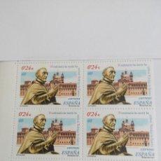 Francobolli: ESPAÑA EDIFIL 3801 RODRIGO DE CASTRO AÑO 2001 BLOQUE 2X2 NUEVOS. Lote 215264638