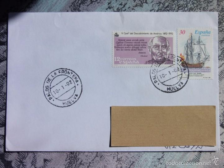 MARCOFILIA - PALOS DE LA FRONTERA - COLON - (Sellos - España - Juan Carlos I - Desde 2.000 - Cartas)