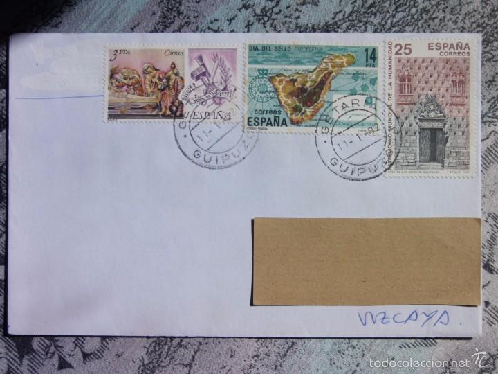 MARCOFILIA - GETARIA - GUETARIA - JUAN SEBASTIAN EL CANO - MARINERO (Sellos - España - Juan Carlos I - Desde 2.000 - Cartas)
