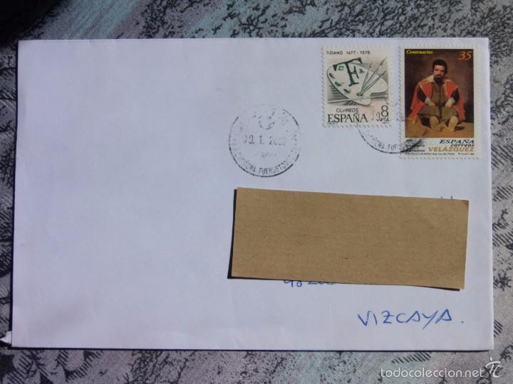 MARCOFILIA - CARIÑENA - FUENDETODOS - GOYA - PINTURA (Sellos - España - Juan Carlos I - Desde 2.000 - Cartas)