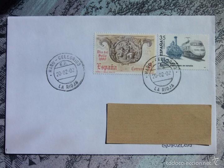 MARCOFILIA - HARO - LA RIOJA - TREN (Sellos - España - Juan Carlos I - Desde 2.000 - Cartas)