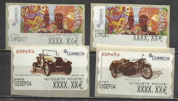 0372 etiquetas postales conmemorativas atm con buy new stamps juan rh en todocoleccion net
