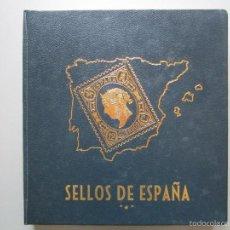Sellos: ALBUM DE SELLOS PHILOS 17 AÑOS COMPLETOS DEL 74 AL 90 LA MAYORIA CON CHARNE CON TODAS LAS HOJITAS SH. Lote 69102345