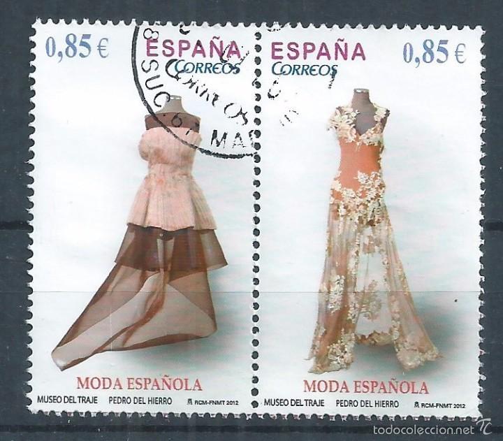 R10/ ESPAÑA USADOS 2012, MODA ESPAÑOLA (Sellos - España - Juan Carlos I - Desde 2.000 - Usados)